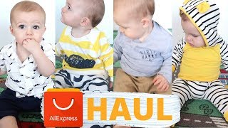 ALIEXPRESS BABY BOY CLOTHING TRY ON HAUL | Winter 2018 | Aussie Mum