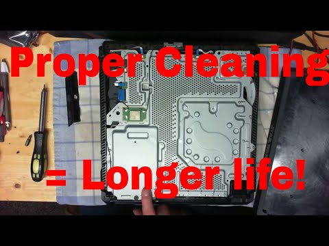 PS4 Pro proper cleaning and maintenance without damage