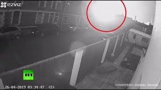 Explosion at UK's largest steel plant caught on CCTV