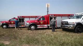 Santa Fe County FIRE-EMS's New Command Light Towers