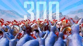 300 SPARTANS VS GIANT KANGAROO ARMY - Ultimate Epic Battle Simulator (UEBS Part 6 - Game / Gameplay(
