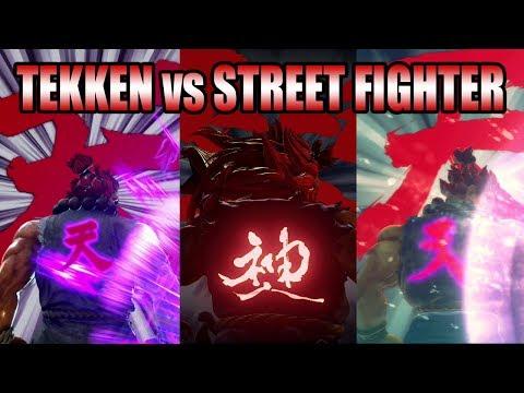 TEKKEN vs STREET FIGHTER: Akuma's Iron FIst 2