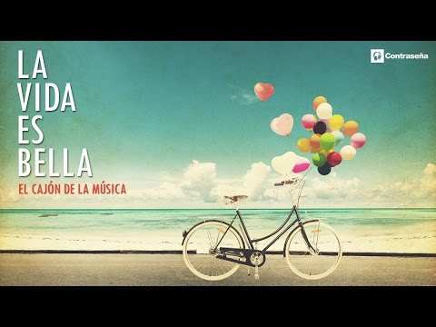 La vida es bella/La Vita È Bella, Instrumental Romantic Relaxing Sax & Flute, el cajon de la musica
