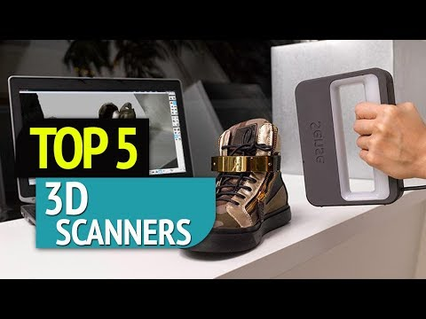 TOP 5: 3D Scanners 2018