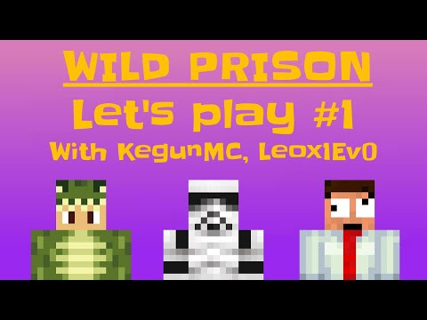 WildPrison   Let's Play #1  Ranking Up And PvP! (With KegunMC And Leox1Ev0)
