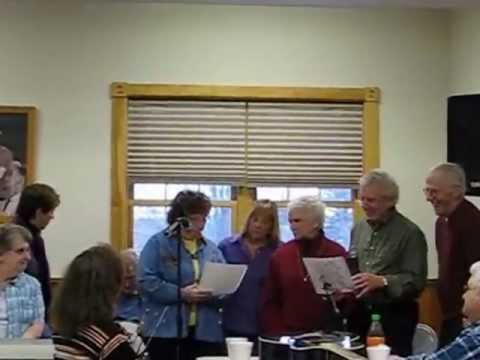 The Bobbin Mill Players Perform Their Theme Song