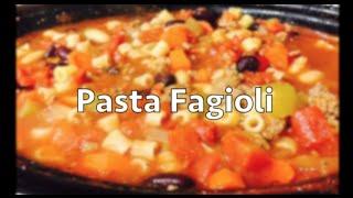 Pasta Fagioli (slow Cooker)