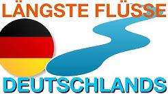 Die 10 längsten Flüsse Deutschlands