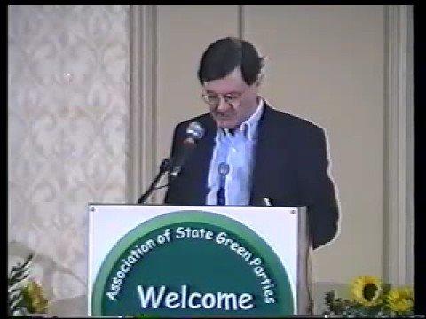 Green Party 2000 Convention - Jim Hightower plenary speech