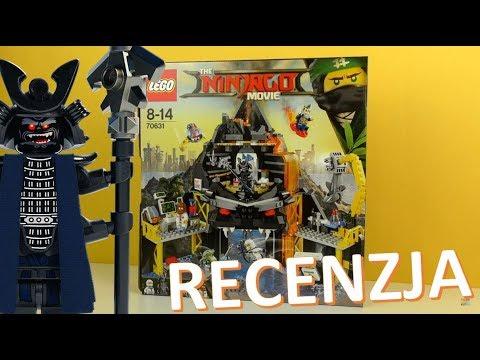 Lego Ninjago Movie Wulkaniczna Kryjówka Garmadona Recenzja Youtube
