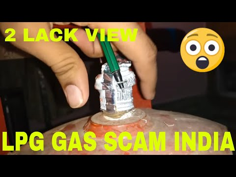 Beaware LPG cylinder weight fraud seal broken india hindi. Biggest scam of india