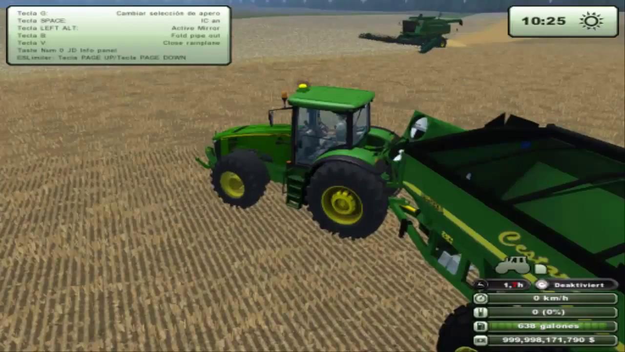 Farming Simulator Trilla De Trigo YouTube - Argentina map farming simulator 2013