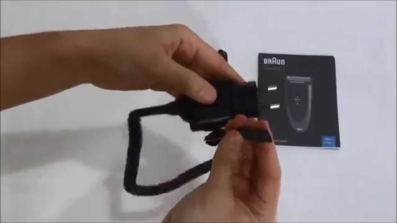 Afeitadora Braun Series 1 170 - YouTube 14f3e2d22927