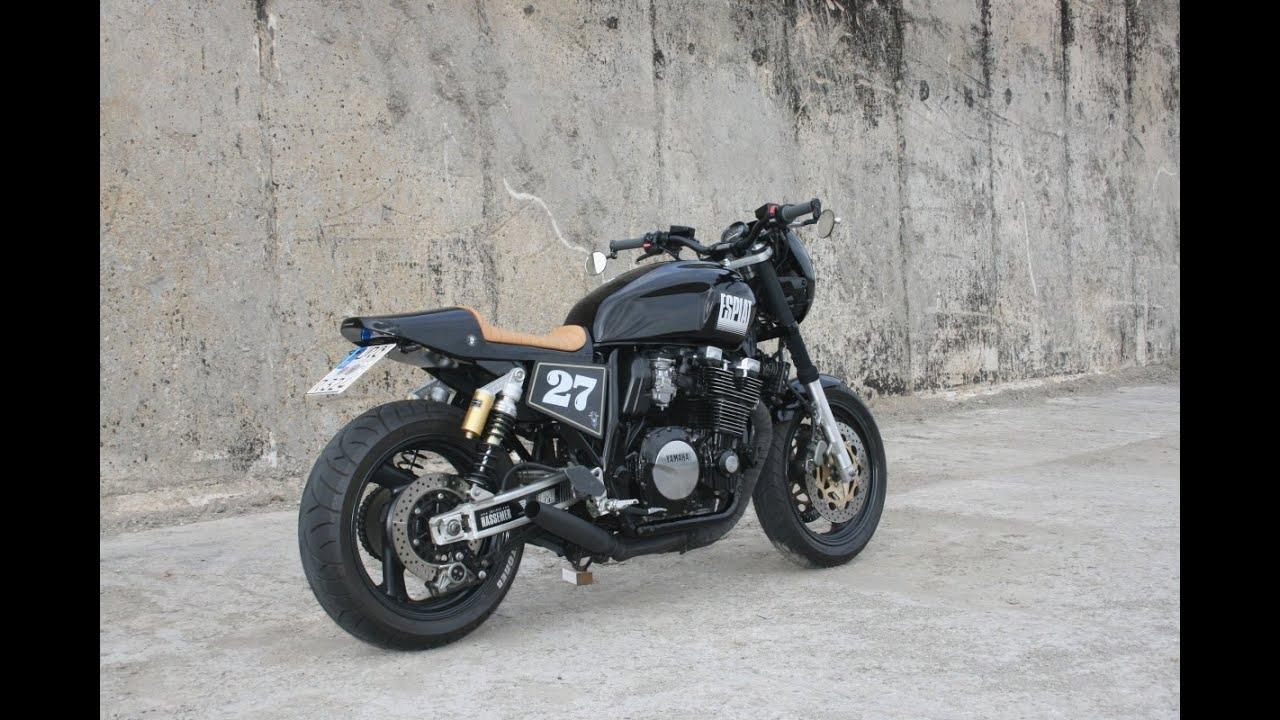 cafe racer yamaha xjr 1200 by custom bike. Black Bedroom Furniture Sets. Home Design Ideas