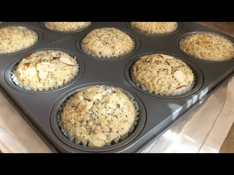 How to Make Lemon Poppy Seed Muffins | classic moist muffins