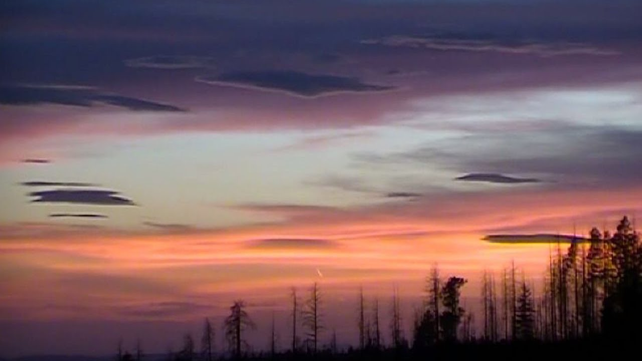 The Nature Explorers South Mogollon Rim Arizona Part 1 of 11 Clouds Sunset  Moving Weather