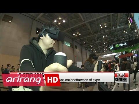 G-Star 2016 showcases gaming industry's future