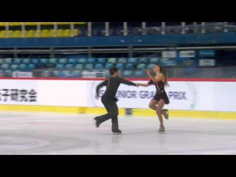 ISU 2014 Jr Grand Prix Zagreb Free Dance Rachel PARSONS / Michael PARSONS USA