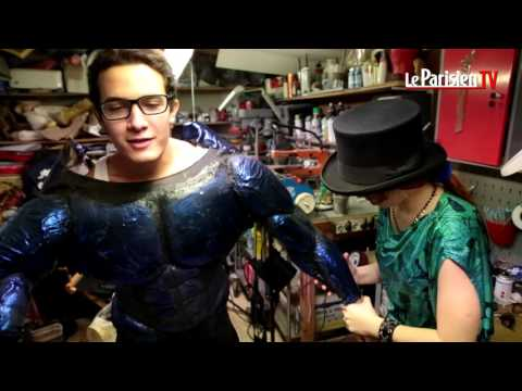 Comic Con Paris: « j'ai passé 200 heures sur mon costume de Superman »