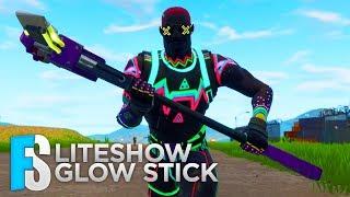Fortnite Skin - Liteshow & Glow Stick Showcase (Fortnite: Battle Royale) #7
