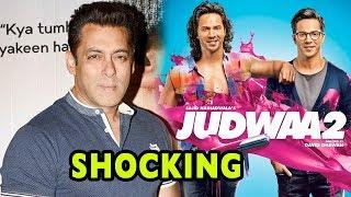 SHOCKING! Salman Khan Won't Promote Varun Dhawan's Judwaa 2