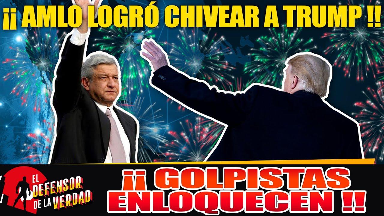 Trump Envía Audio Al Avión!!Sr AMLO,Usted Es El Mejor Presidente Del Mundo!!Lo Despidió Con Mariachi