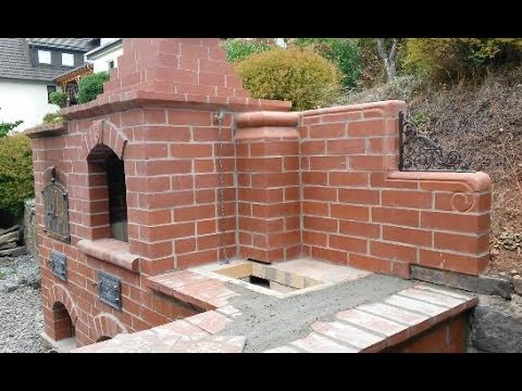 Brick BBQ stove and oven summer projekt pt.7