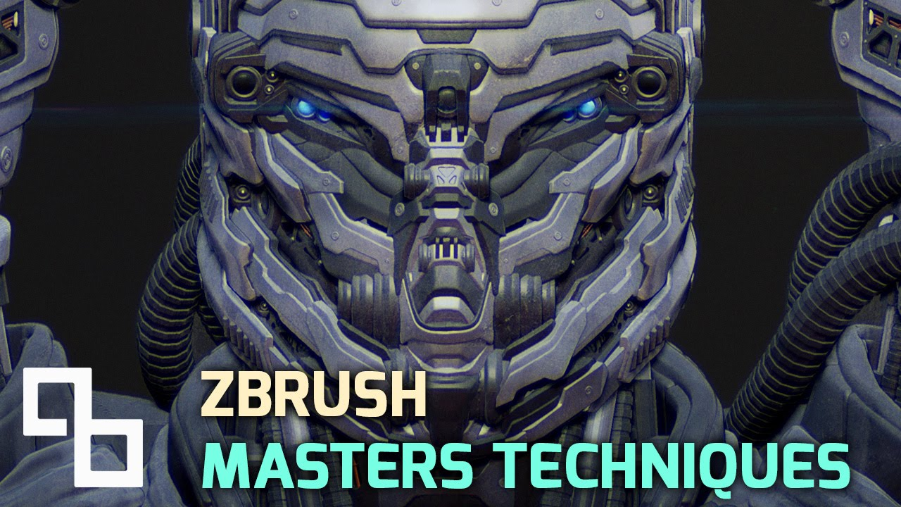 Character Design Zbrush Course : Sci fi character design in zbrush panels youtube