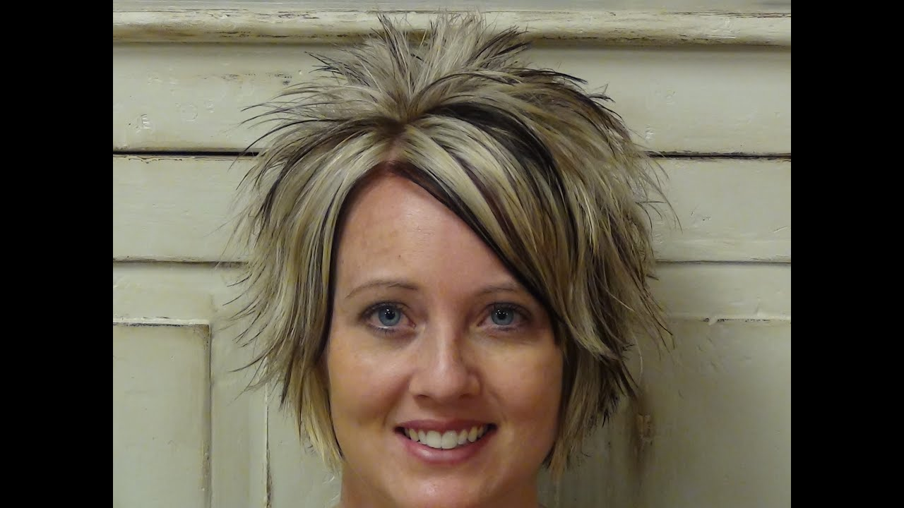 cut short messy hairstyles
