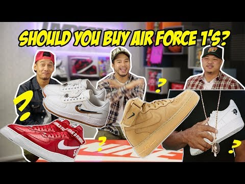 ARE AIR FORCE 1's HOT AGAIN?! HEATED DEBATE!