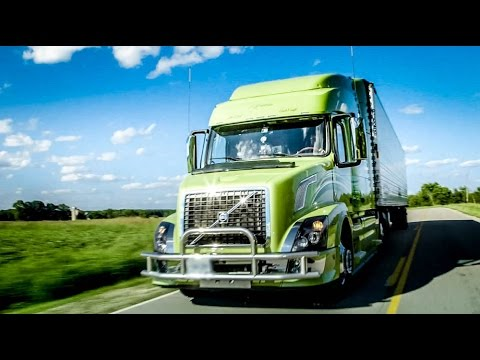 "Volvo Trucks - Husband-Wife team turns heads in their custom VNL - ""Welcome To My Cab"" - YouTube"