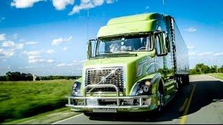 "Volvo Trucks - Husband-Wife team turns heads in their custom VNL - ""Welcome To My Cab"""