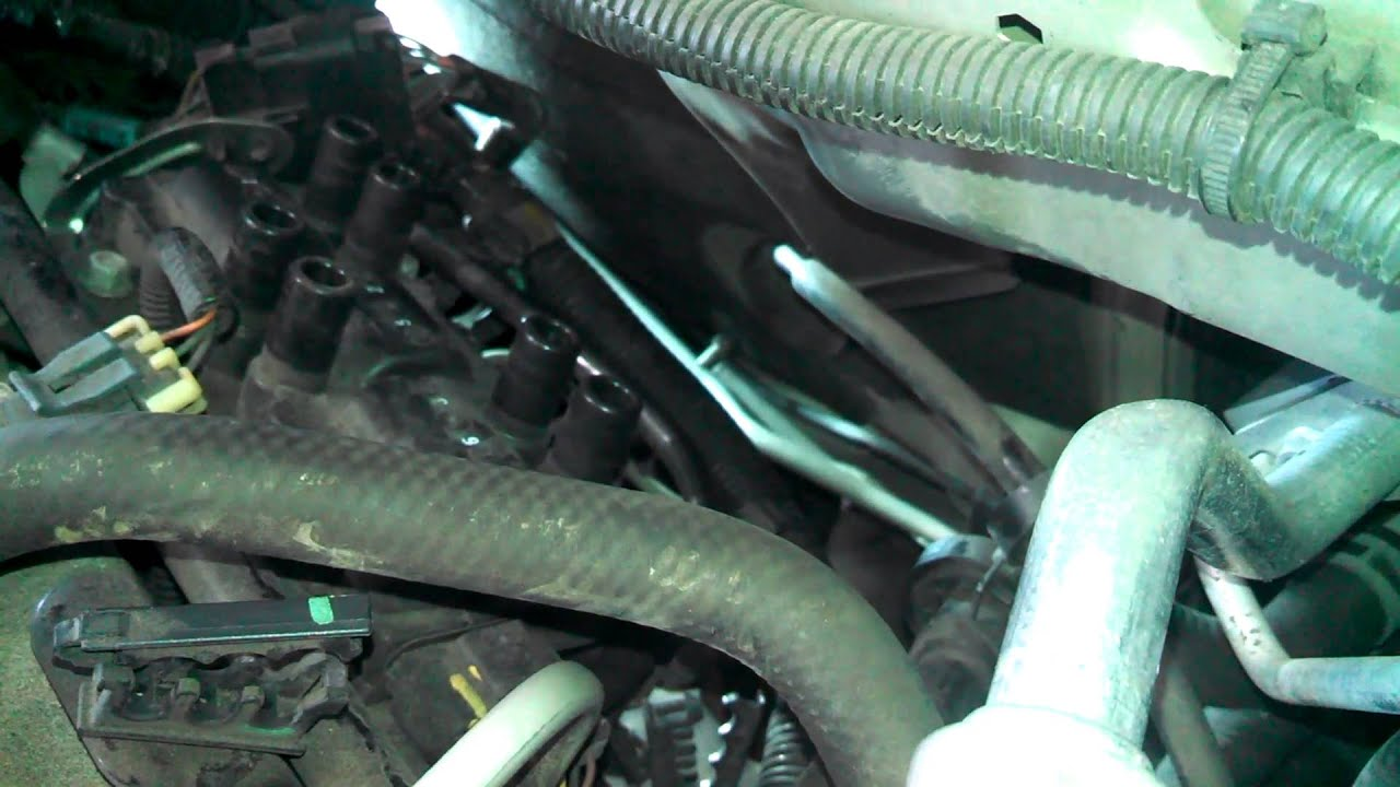 maxresdefault spark plug replacement chevrolet equinox 3 4l wires tune up youtube GMC Terrain Interior Parts at bayanpartner.co
