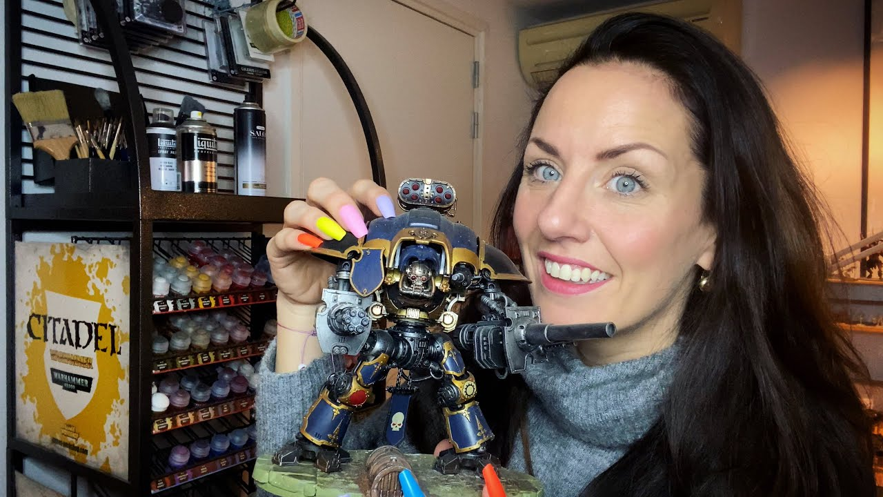 ASMR | Fast Tapping Around Warhammer Room | 40K Special | Queen of Tapping | 40K Warhammer