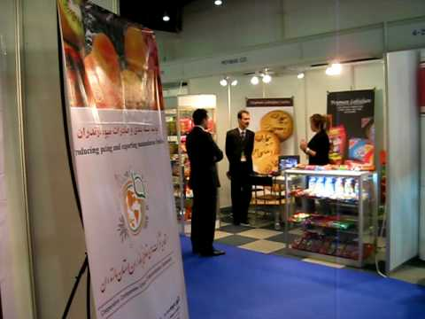 pooya Tousi in INT dubai's trade show 2008