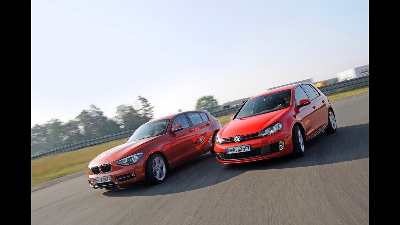 Golf Gti Vs Bmw 125i It Is Time To Duel Youtube