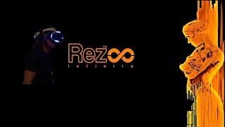 Rez infinite VR gameplay