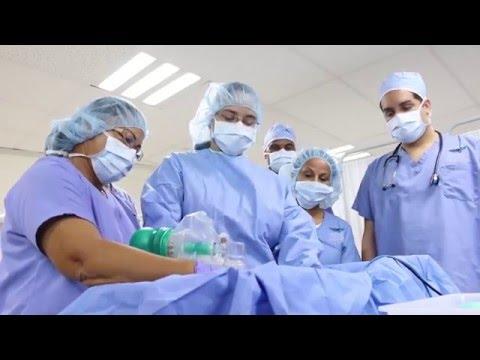 Simulador de partos en Antilles College - Lab. Enfermería Práctica