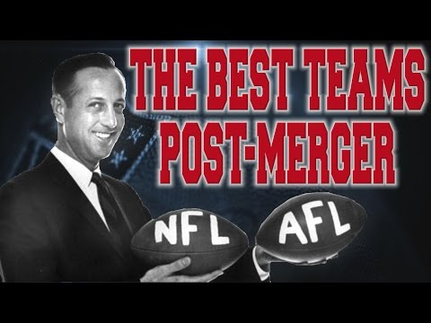 THE BEST TEAMS IN THE NFL SINCE THE AFL-NFL MERGER