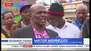 Murang\'a County still facing water challenges as MUWASCO member protest