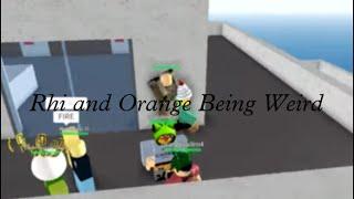 [Roblox] Secretly Recording Rhi and Orange