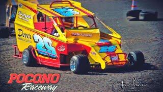Racing At Pocono Raceway