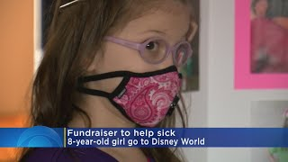 Tin Cup Fundraiser Aims To Send Girl With Rare Disease To Disney World
