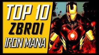 TOP 10 NAJPOTĘŻNIEJSZYCH Zbroi Iron Mana [Radioaktywny Top]