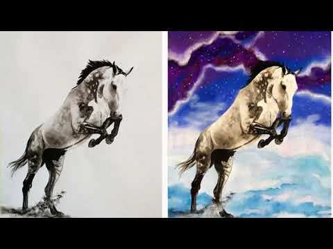 Estonian Artist Captures Personalities Of Horses With Her Realistic Hand Drawn Art