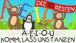 A-E-I-O-U Komm, lass uns tanzen - Bewegungslieder zum Mitsingen || Kinderlieder