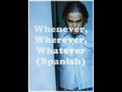 MAXWELL Whenever, Wherever, Whatever in Spanish (maxwellfanforum.com)