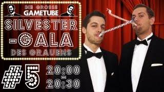 Thumbnail für Die Große GameTube-Silvestergala des Grauens - Folge #5 (20:00-20:30 Uhr)