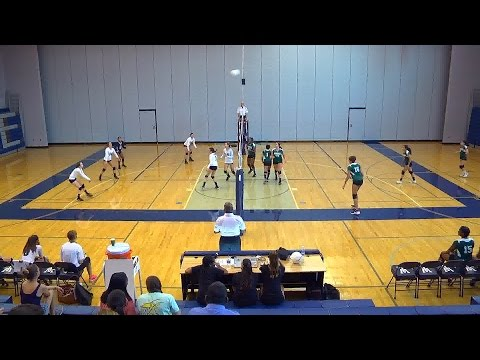 JV Volleyball: Wakefield at Washington-Lee 2016