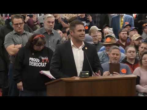 Nick Freitas argues for Sanctuary County resolution to Spotsylvania County Board of Supervisors